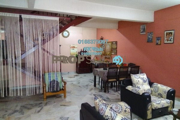 For Sale Terrace at Taman Sentosa, Klang Freehold Semi Furnished 4R/3B 400k