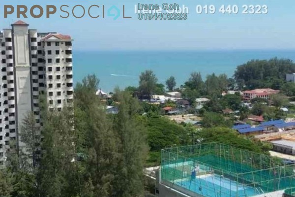 For Rent Condominium at Eden Seaview, Batu Ferringhi Freehold Fully Furnished 3R/2B 1.3k