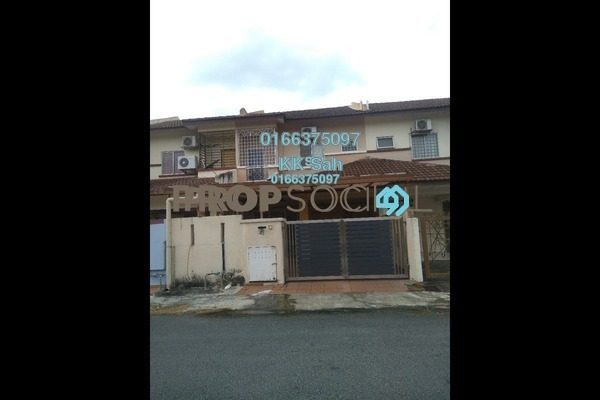 For Sale Terrace at Section 6, Bandar Mahkota Cheras Freehold Semi Furnished 4R/3B 485k