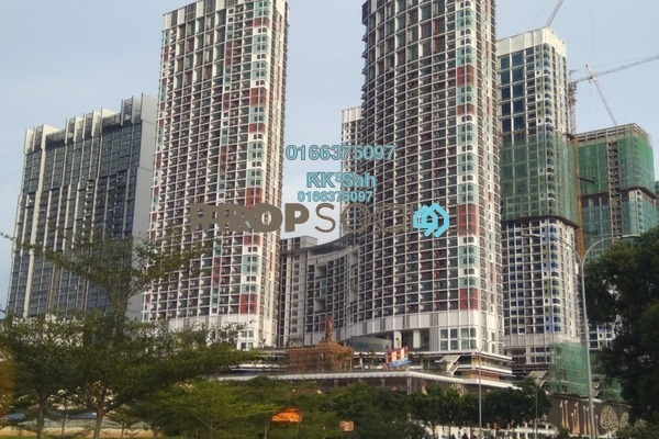For Sale Serviced Residence at i-Residence @ i-City, Shah Alam Freehold Fully Furnished 1R/1B 408k