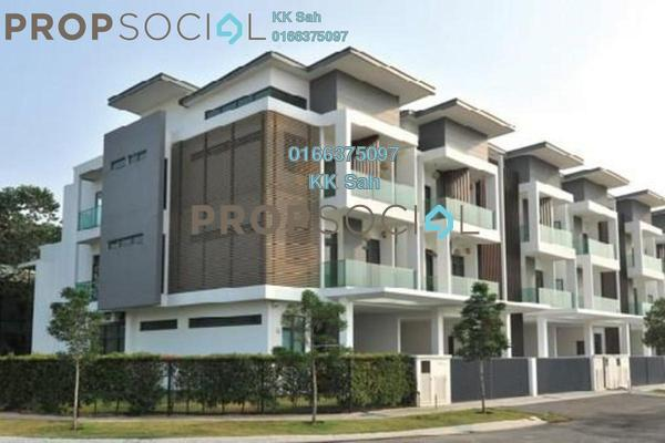 For Sale Superlink at Bandar Nusaputra, Puchong Leasehold Semi Furnished 5R/5B 1.24m