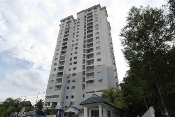 For Sale Condominium at Greenpark, Old Klang Road Freehold Semi Furnished 3R/2B 410k