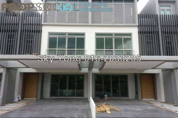 For Sale Terrace at D'Island, Puchong Freehold Semi Furnished 5R/6B 1.2m