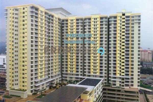 For Rent Condominium at Platinum Lake PV20, Setapak Freehold Semi Furnished 3R/2B 2.3k