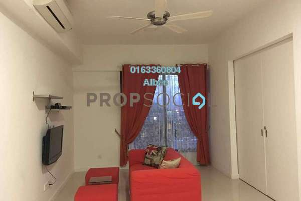 For Rent Condominium at Azelia Residence, Bandar Sri Damansara Freehold Fully Furnished 0R/1B 2k