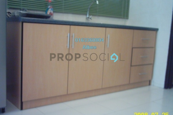 For Rent Condominium at Casa Tiara, Subang Jaya Freehold Fully Furnished 0R/1B 1.35k
