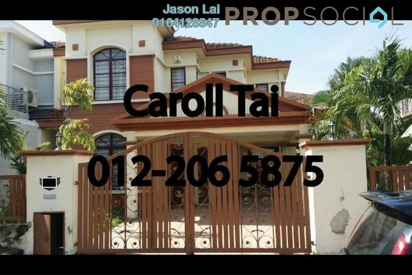 For Sale Terrace at Taman Lestari Perdana, Bandar Putra Permai Leasehold Semi Furnished 4R/3B 900k