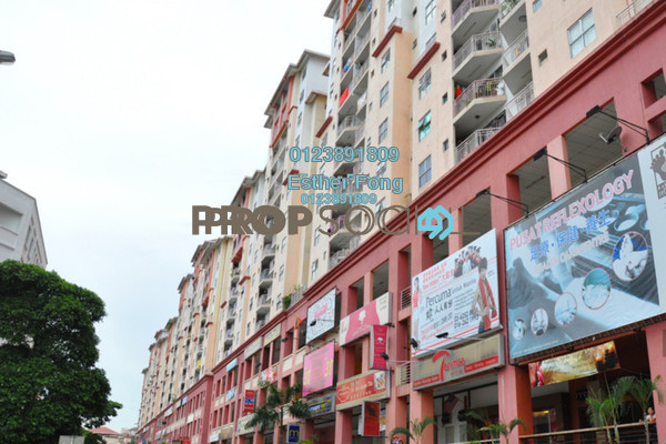 For Rent Apartment at Vista Magna, Kepong Leasehold Semi Furnished 3R/2B 1.6k