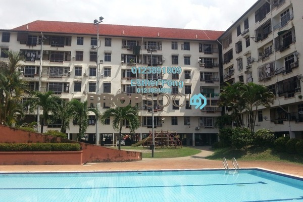 For Rent Apartment at Nova II, Segambut Freehold Semi Furnished 3R/2B 1.3k