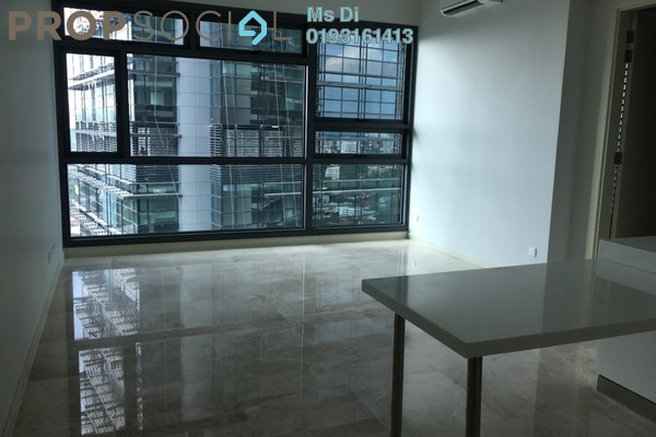 For Rent Condominium at Vogue Suites One @ KL Eco City, Mid Valley City Freehold Semi Furnished 1R/1B 2.5k