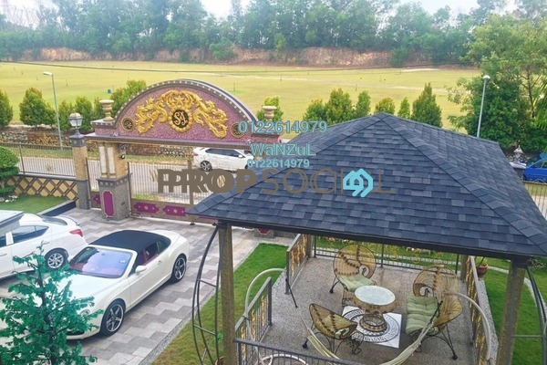 For Sale Bungalow at Bangi Golf Resort, Bandar Baru Bangi Leasehold Semi Furnished 7R/7B 3.54m