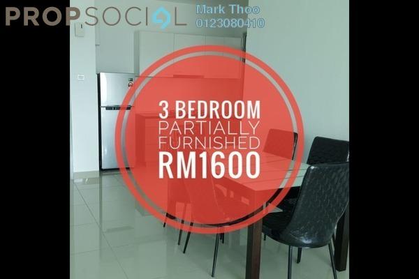 For Rent Condominium at Kiara Residence, Bukit Jalil Freehold Semi Furnished 3R/2B 1.6k