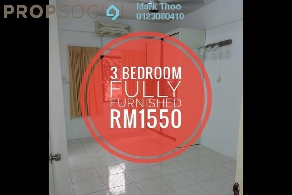 For Rent Condominium at Bukit Gembira Apartment, Kuchai Lama Freehold Semi Furnished 3R/2B 1.55k