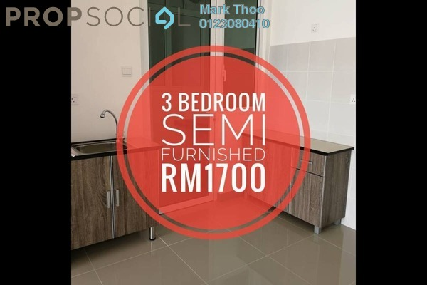 For Rent Condominium at Southbank Residence, Old Klang Road Freehold Semi Furnished 3R/2B 1.7k