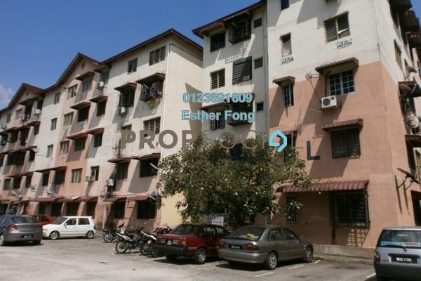 For Sale Apartment at Harmoni Apartment, Damansara Damai Leasehold Semi Furnished 3R/2B 95k