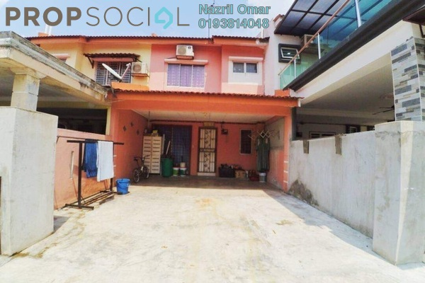 For Sale Terrace at Taman Saujana Putra, Johor Leasehold Semi Furnished 3R/2B 389k