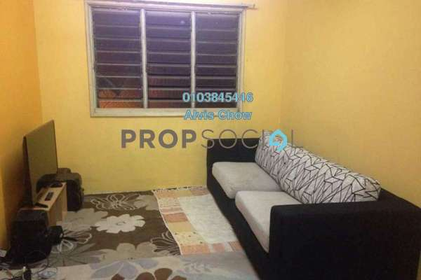 For Rent Apartment at Sri Penara, Bandar Sri Permaisuri Freehold Semi Furnished 3R/2B 1.1k