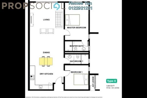 For Rent Condominium at Da Men, UEP Subang Jaya Freehold Semi Furnished 2R/2B 1.7k