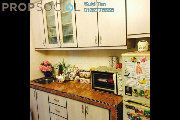 For Sale Apartment at Aman Dua, Kepong Freehold Semi Furnished 3R/1B 330k