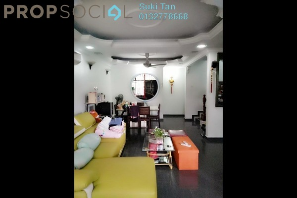 For Sale Terrace at Taman Bukit Maluri, Kepong Freehold Semi Furnished 4R/3B 945k