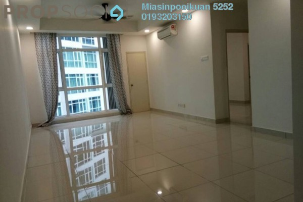 For Rent Serviced Residence at Central Residence, Sungai Besi Freehold Semi Furnished 2R/2B 1.5k