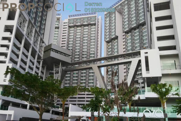 For Rent Condominium at Garden Plaza @ Garden Residence, Cyberjaya Freehold Fully Furnished 2R/2B 1.5k