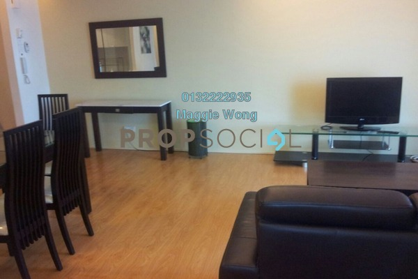 For Sale Condominium at i-Zen Kiara I, Mont Kiara Freehold Fully Furnished 1R/2B 650k