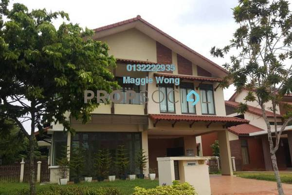 For Rent Bungalow at Setia Eco Park, Setia Alam Freehold Semi Furnished 5R/6B 5k