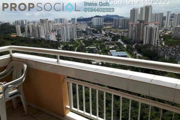 For Sale Condominium at Parkview Towers, Bukit Jambul Freehold Fully Furnished 3R/2B 460k