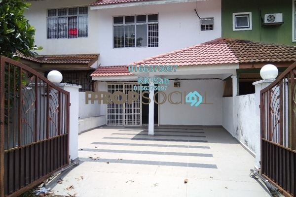 For Sale Link at Taman Muhibbah, Seri Kembangan Leasehold Semi Furnished 4R/2B 530k
