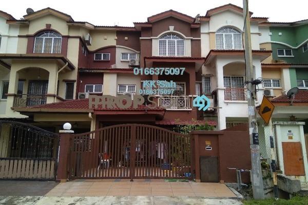For Sale Link at Section 1, Bandar Mahkota Cheras Freehold Semi Furnished 5R/4B 750k