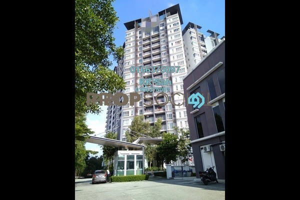For Sale Condominium at The iResidence, Bandar Mahkota Cheras Freehold Fully Furnished 3R/2B 508k