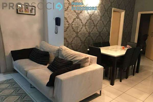 For Sale Condominium at Desa Impiana, Puchong Freehold Fully Furnished 3R/2B 450k
