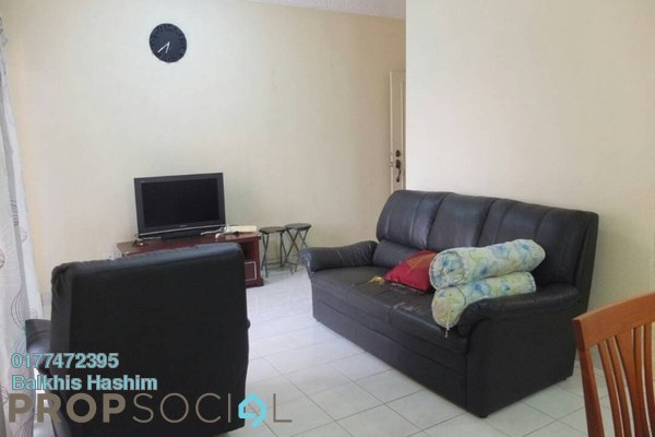 For Rent Apartment at Seksyen 5, Bangi Freehold Semi Furnished 3R/2B 1.1k