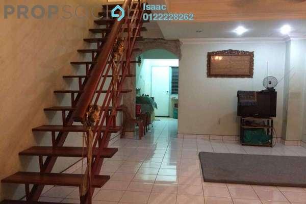 For Sale Terrace at Taman Sri Endah, Sri Petaling Freehold Semi Furnished 3R/2B 480k