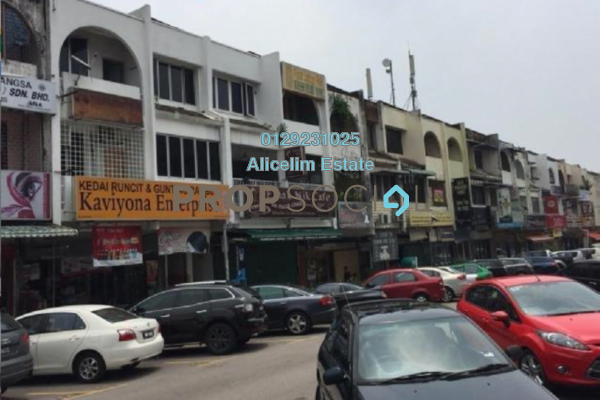 For Rent Shop at SS14, Subang Jaya Freehold Unfurnished 0R/1B 3k