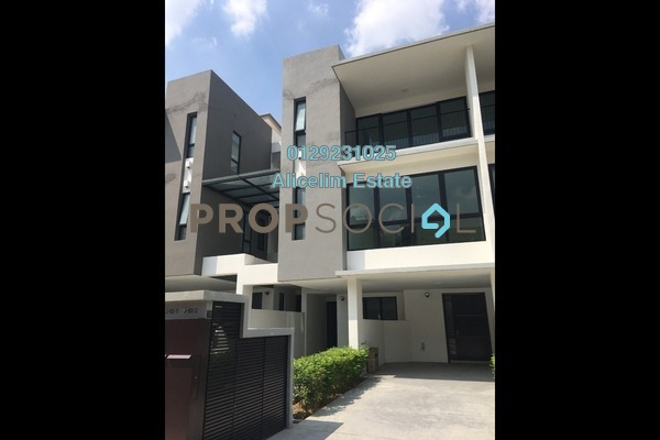 For Rent Townhouse at Primer Garden Town Villas, Cahaya SPK Freehold Semi Furnished 3R/4B 2.1k