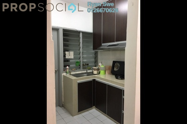 For Sale Condominium at SD Apartments, Bandar Sri Damansara Freehold Semi Furnished 3R/2B 250k