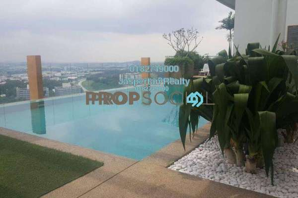 For Rent Condominium at Subang SoHo, Subang Jaya Freehold Fully Furnished 1R/1B 1.3k