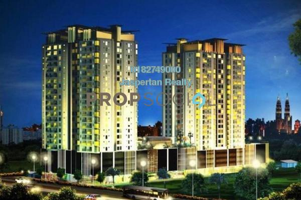 For Sale Condominium at DeSkye Residence, Jalan Ipoh Freehold Unfurnished 3R/2B 580k