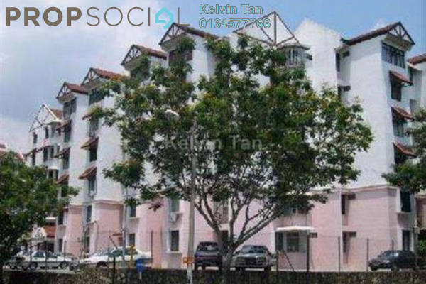 For Rent Apartment at Taman Jubilee, Sungai Nibong Freehold Fully Furnished 3R/2B 1k