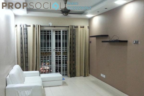For Sale Condominium at Serdang Villa Apartment, Seri Kembangan Freehold Semi Furnished 3R/2B 300k