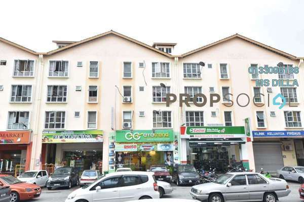 For Sale Apartment at Section 7, Shah Alam Freehold Semi Furnished 3R/2B 245k