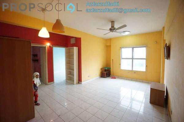 For Sale Apartment at Brunsfield Riverview, Shah Alam Freehold Semi Furnished 3R/2B 280k