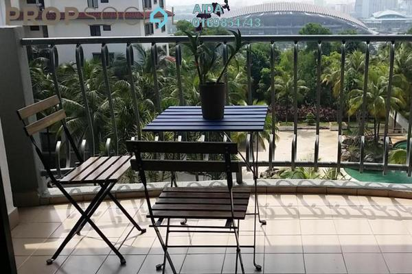For Sale Condominium at Sri Alam, Shah Alam Freehold Semi Furnished 4R/2B 450k