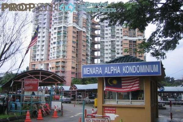 For Rent Condominium at Menara Alpha, Wangsa Maju Leasehold Semi Furnished 3R/2B 1.5k