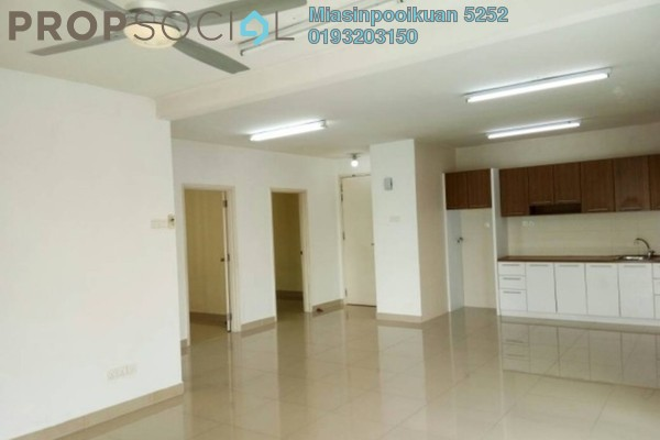 For Rent Condominium at Alam Puri, Jalan Ipoh Freehold Semi Furnished 3R/2B 1.65k