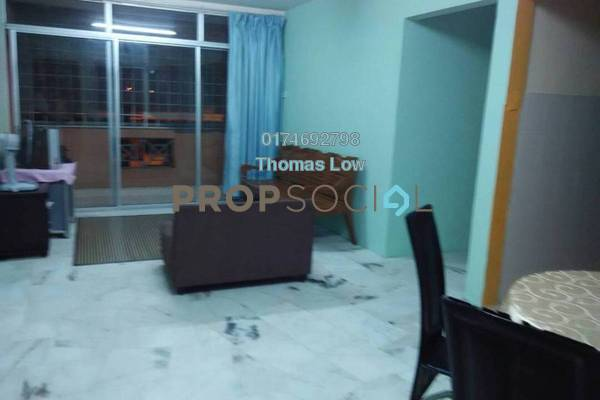For Rent Apartment at Dahlia Apartment, Setapak Freehold Fully Furnished 3R/2B 1.5k