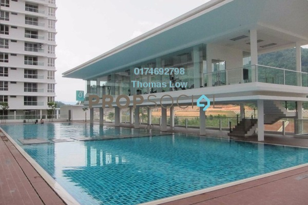 For Rent Condominium at Platinum Hill PV2, Setapak Freehold Semi Furnished 4R/2B 1.6k