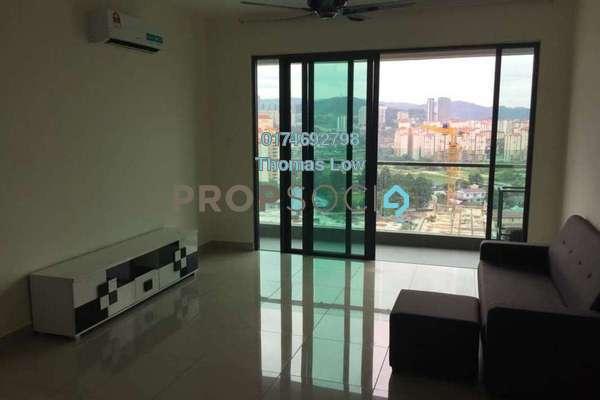 For Rent Condominium at Ascenda Residence @ SkyArena, Setapak Freehold Fully Furnished 3R/2B 2.4k